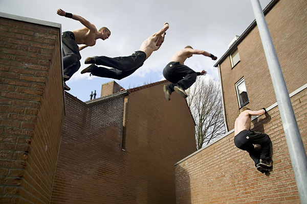 Parkour Motion Frames