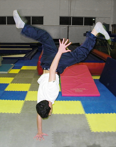Breakdance Athlos Practice