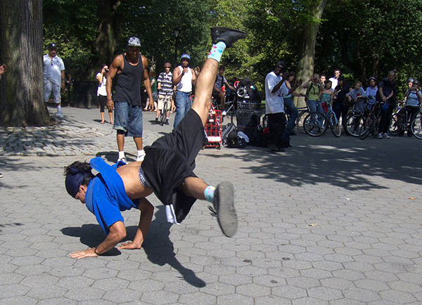 Breakdance Performance